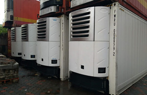Supersnow truck refrigeration units installed in Latin America